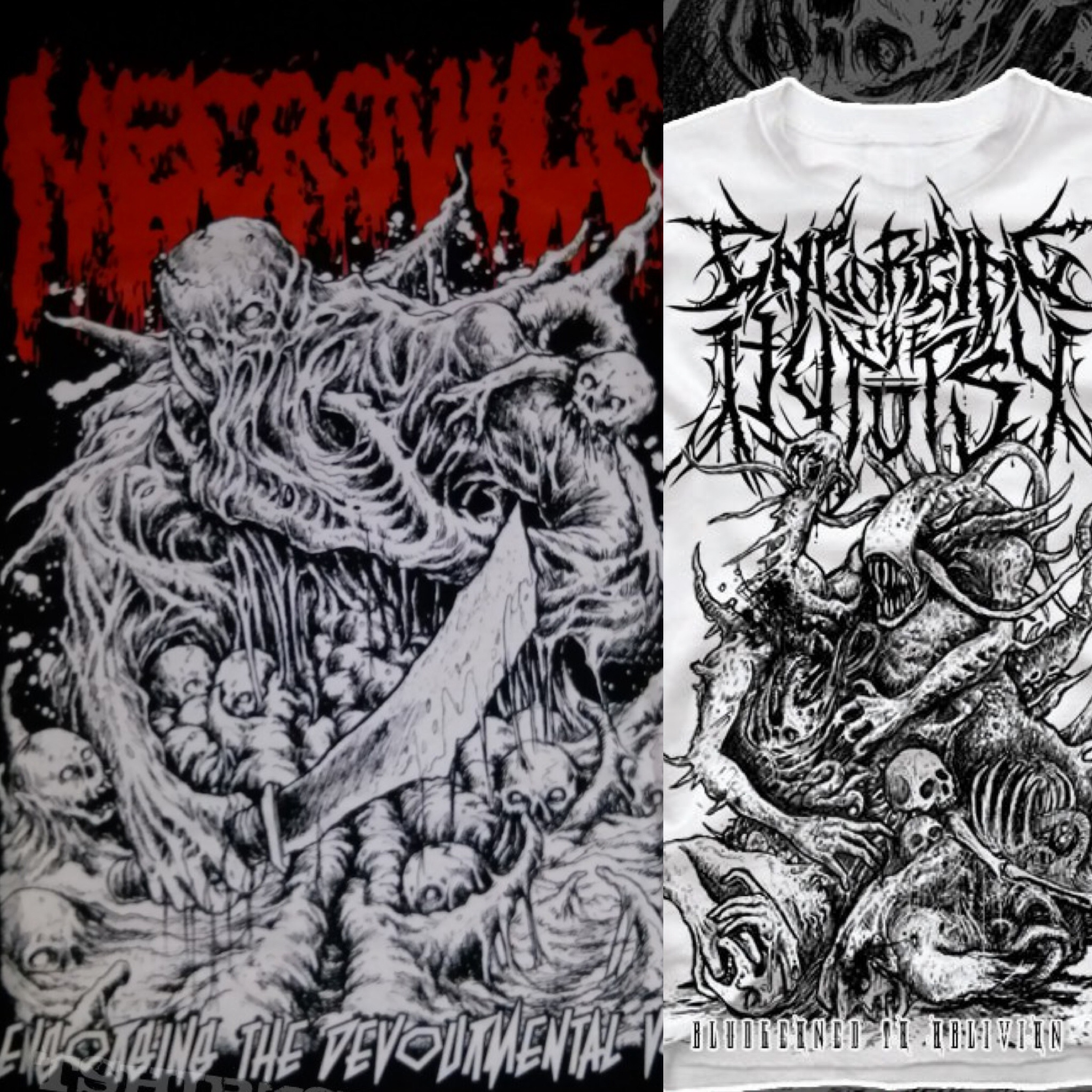 Necrovile & Engorging The Autopsy