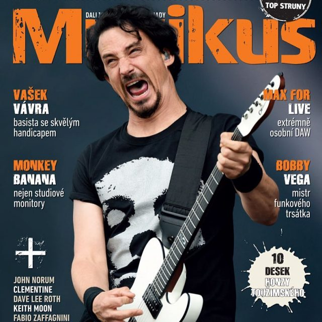 Front cover interview with gojira frontman joeduplantier about album Magmahellip