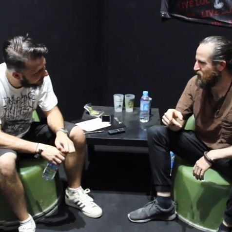 Video interview with LiamWilson at Hellfest2017 about his band JohnFrumhellip