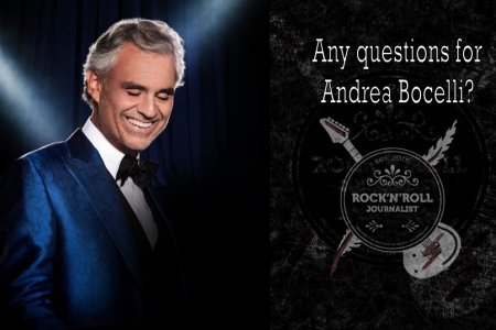 Any questions for Andrea Bocelli?